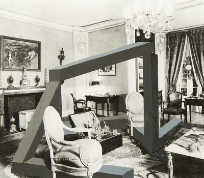 French Art Collectors Apartment. Paris, 1972