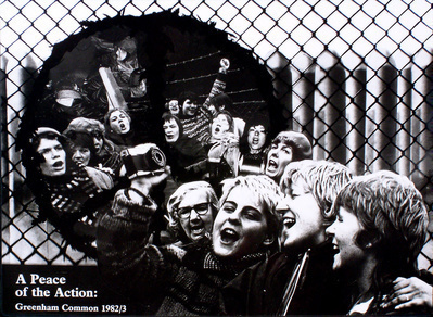 Greenham Poster, 1983 By Loraine Leeson
