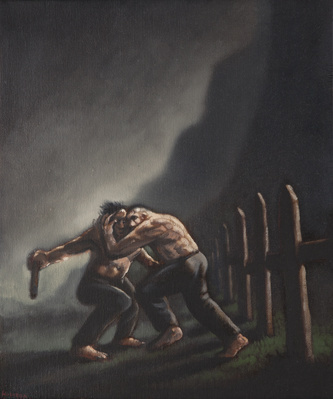 Bene Regesh, 1996 By Peter Howson