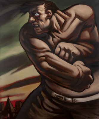 Untitled (Fighter), 1998