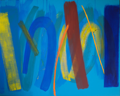 Yellow and Blue, 2008 By Wilhelmina Barns-Graham