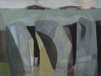 Three Rock Forms, 1951 By Wilhelmina Barns-Graham