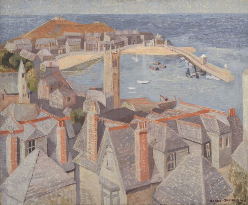 View of St Ives, 1940