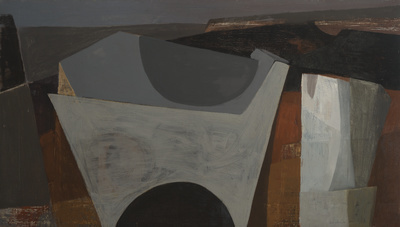 Rock Theme (Saint Just), 1953 By Wilhelmina Barns-Graham