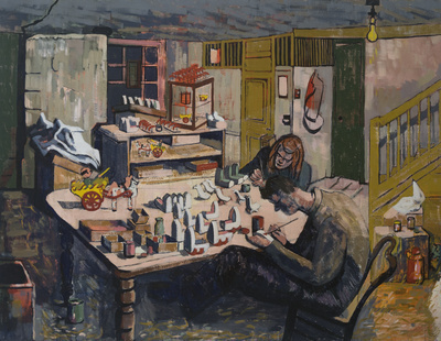 The Toy Workshop, 1944 By Wilhelmina Barns-Graham