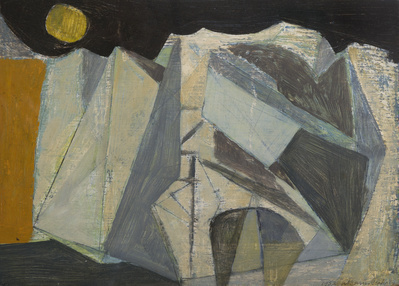 Cliff, 1952 By Wilhelmina Barns-Graham