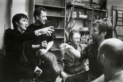 Angus Fairhurst, Gary Hume, Michael Landy, Mat Collishaw and... By Johnnie Shand Kydd