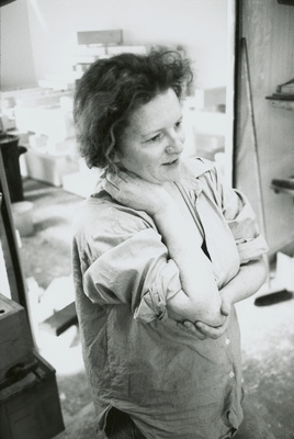 Rachel Whiteread, Studio, London. 1997 By Johnnie Shand Kydd