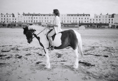 Tracey Emin making Riding for a Fall, Margate, 1998