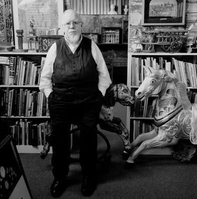 Peter Blake, Studio, London, 2011
