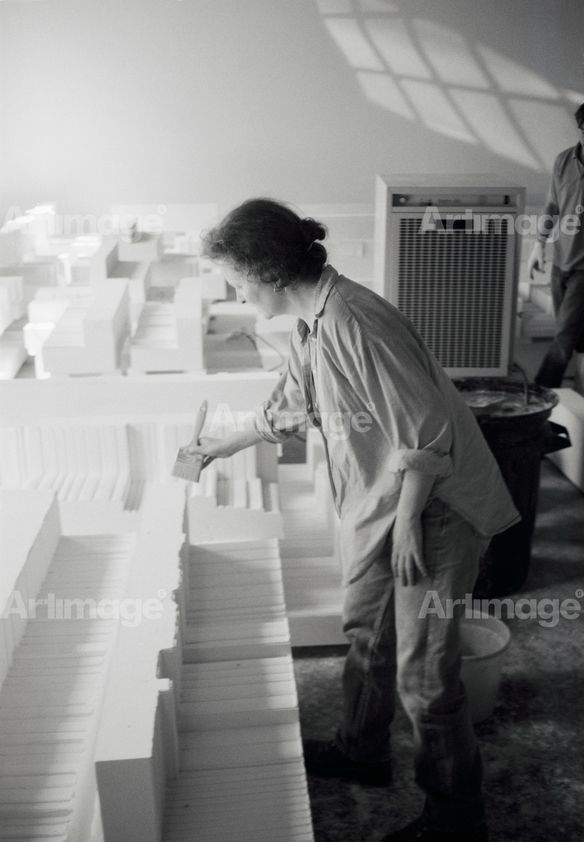 Enlarged version of Rachel Whiteread, Studio, London, 1997