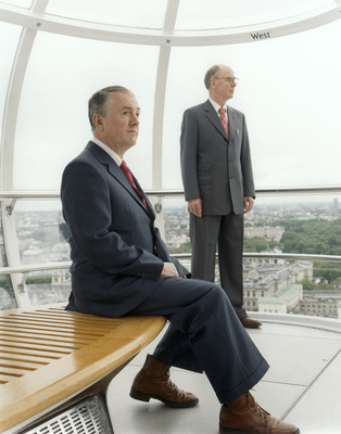 Gilbert and George, London Eye, 2002