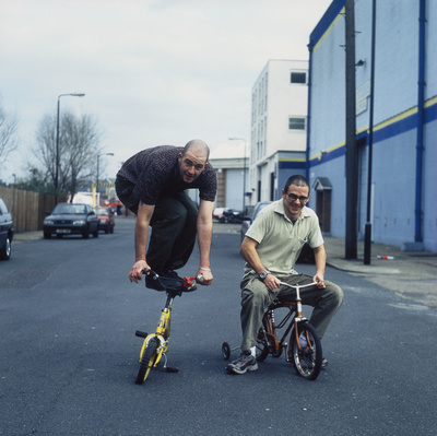 Jake and Dinos Chapman, Olmar Wharf, Old Kent Road, 2000 By Johnnie Shand Kydd