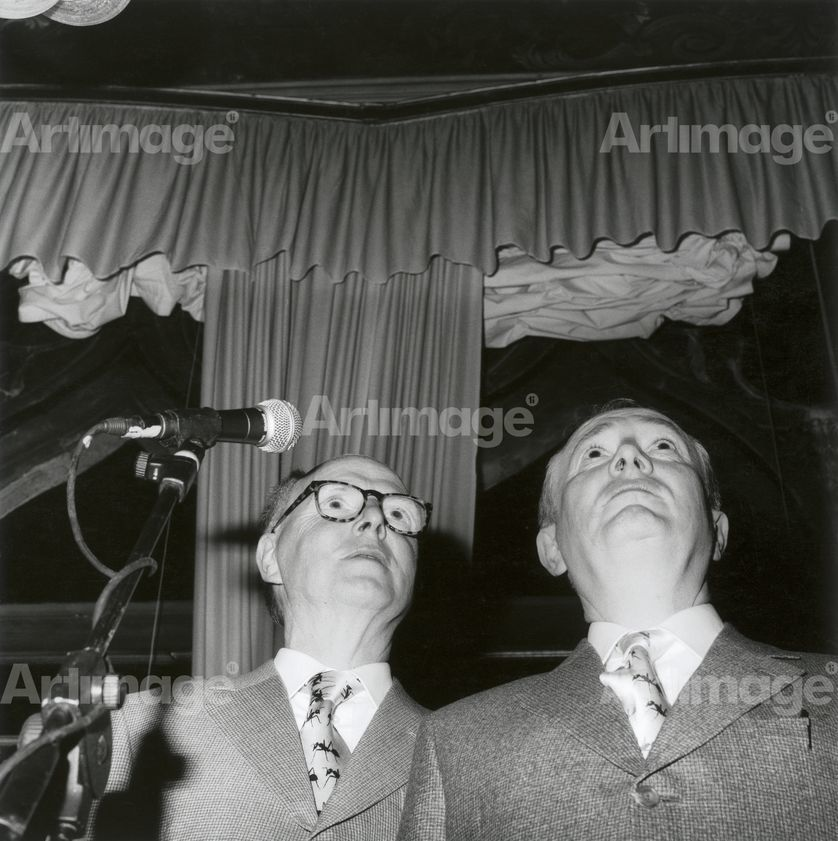 Enlarged version of Gilbert and George, Venice Biennale, 2005