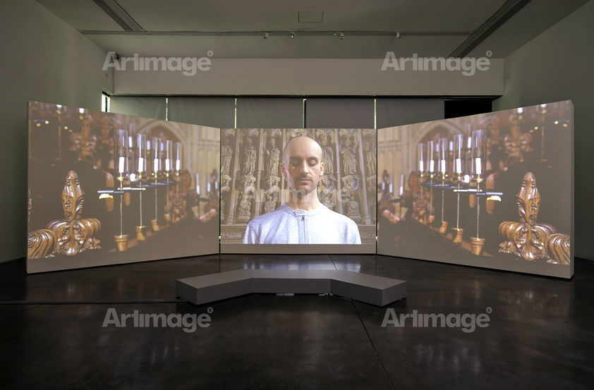 Enlarged version of For you, only you – installation view, 2007