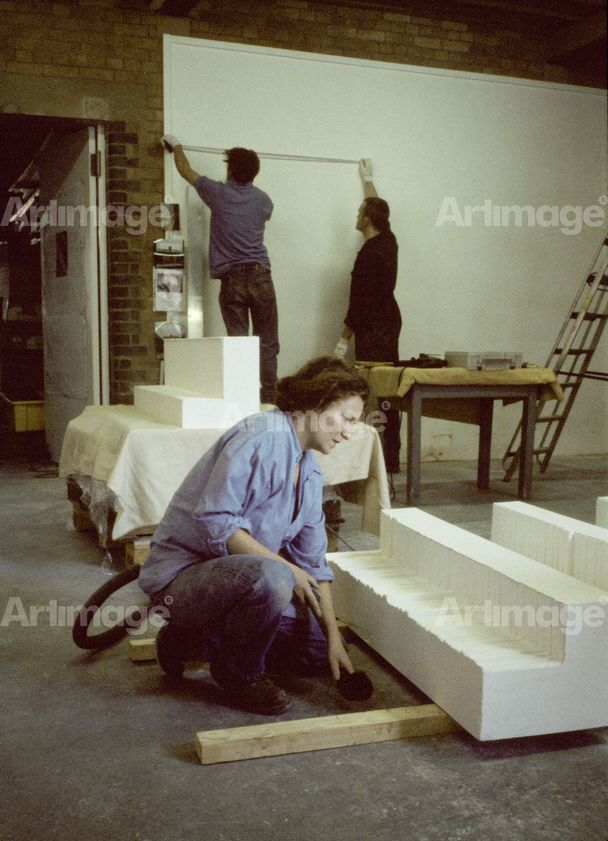 Enlarged version of Rachel Whiteread, Studio, Laburnum Street, London, 1997