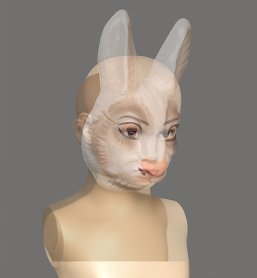 Masks II (Rabbit), 2015