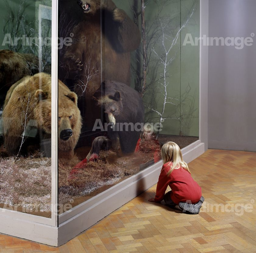 Girl with Bears, Royal Museum of Scotland, Edinburgh, 1999
