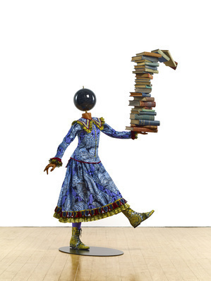 Girl Balancing Knowledge, 2015 By Yinka Shonibare CBE