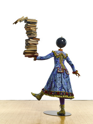 Girl Balancing Knowledge, 2015