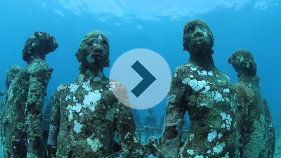 Vicissitudes, 2007 By Jason deCaires Taylor