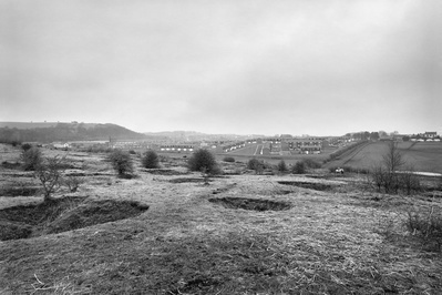 Sacriston Slag Heaps. Co, Durham, 1983 By John Davies