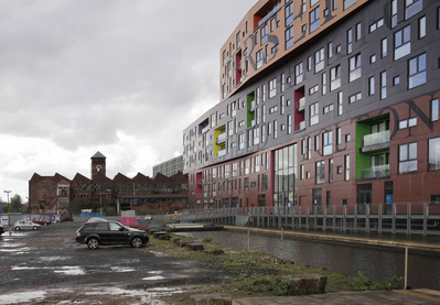 New Apartments, Ancoats, Manchester, 2013