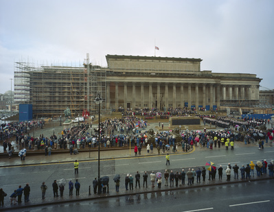 Cenetaph, St. George's Hall, Liverpool, 2002 By John Davies