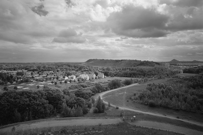 From Terril du 116/117 towards New Houses, Oignies, France, ...