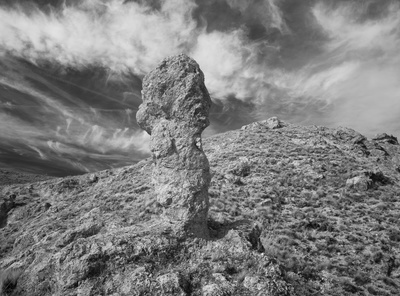 El Barranco de Río Dulce (penis rock), Spain, 2014 By John Davies