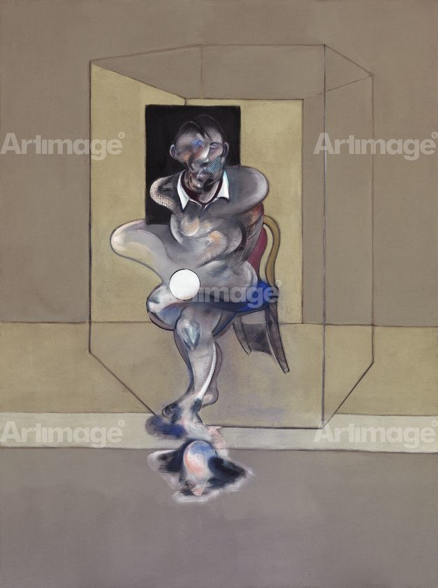 Enlarged version of Study for Self-Portrait, 1976