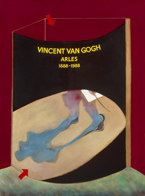 Poster for the 1988 Van Gogh Exhibition in Arles, 1985