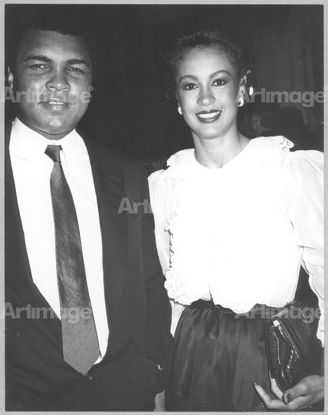 Enlarged version of Muhammad Ali and Veronica Ali, 1982
