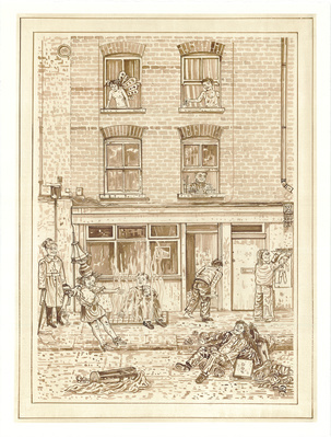 A Redchurch Street Rakes Progress 6, 2009 By Adam Dant
