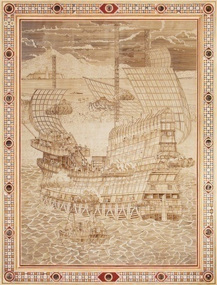 Medieval galleon, 2011