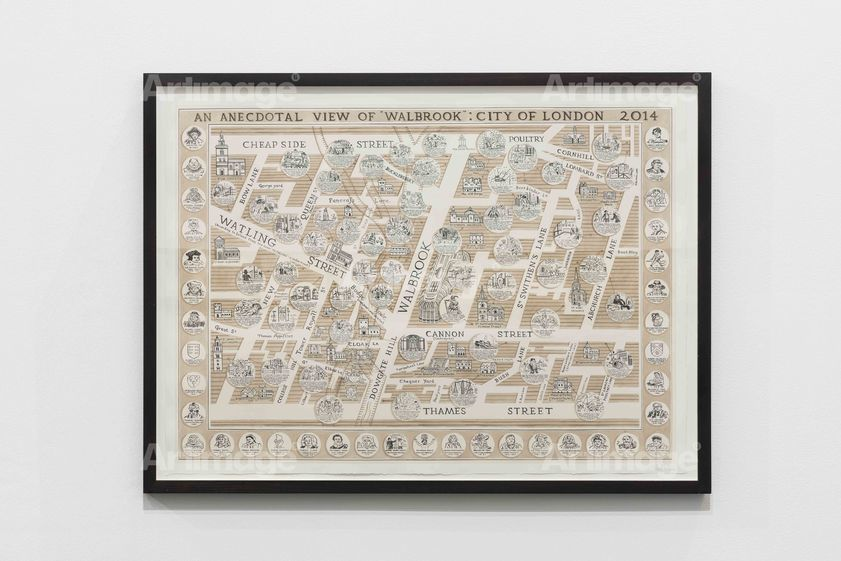 Enlarged version of 2000 Years of Walbrook London, 2015