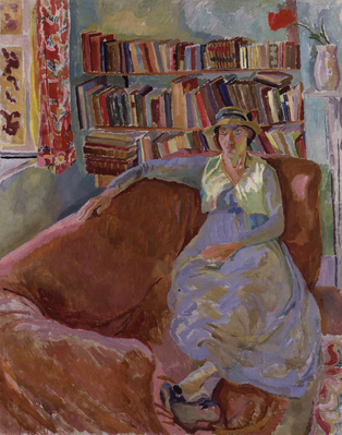 Vanessa Bell (née Stephen), 1917 By Duncan Grant