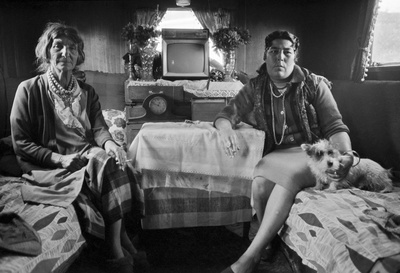 From the series: Gypsies and Travellers, Stockport, 1971