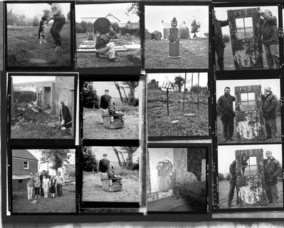 Contact Sheet Collage, 1986