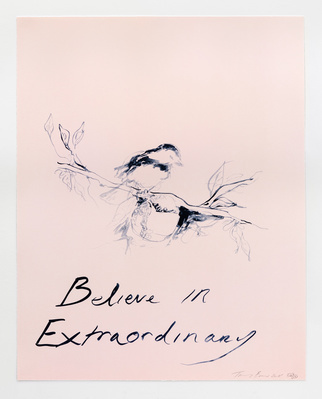 Believe In Extraordinary, 2015 By Tracey Emin