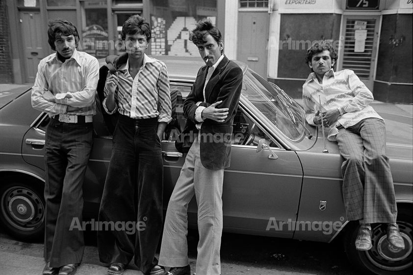 Brick Lane, 1977. Eastender series
