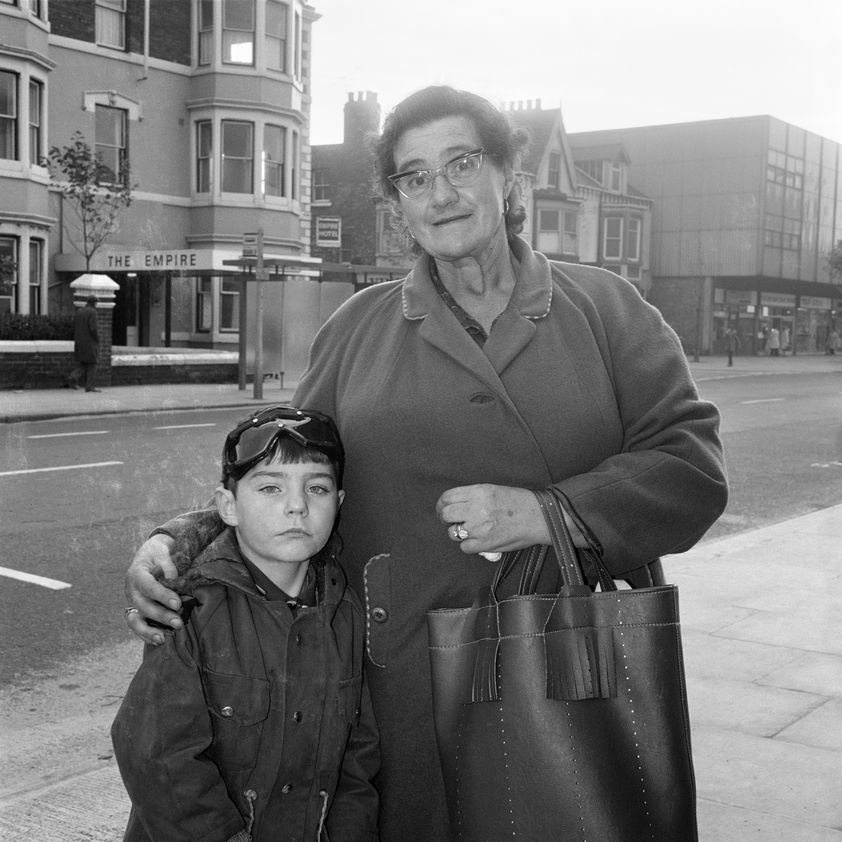 Portrait from the Free Photographic Omnibus: Middlesbrough, 1973