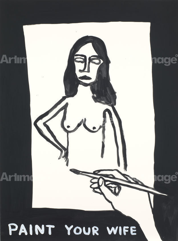 Untitled (Paint your wife), 2012