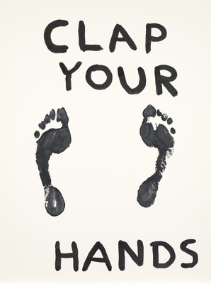 Untitled (Clap your hands), 2012 By David Shrigley