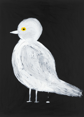 Untitled (White bird), 2014