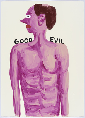 Untitled (Good-evil), 2015