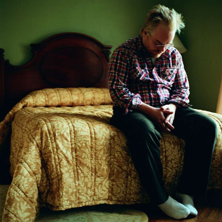 Philip Seymour Hoffman (From the Crying Men series), 2002-2004