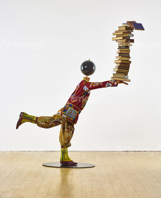 Enlarged version of Boy Balancing Knowledge II, 2016