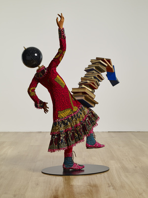 Girl Balancing Knowledge II, 2016