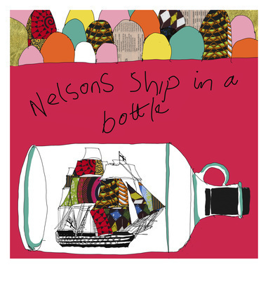 Nelson's Ship in a Bottle (Red), 2016